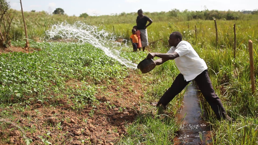 Monsanto works with water sustainability efforts such as WEMA to help farmers grow more food.